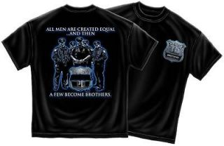 law enforcement police brotherhood tshirt all sizes