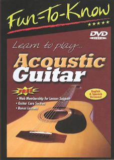 Fun To Know   Learn to PlayAcoustic Guitar DVD, 2005