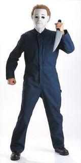 halloween michael myers adult standard costume new