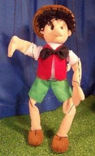 SUNNY PUPPETS ~ PINOCCHIO MARIONETTE # WB1908 ~22 tall ~Easy to Work