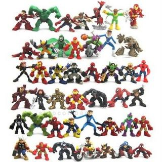 Super Hero Squad Iron Man Spider man Legends Figures Universe M90
