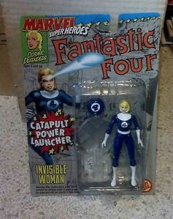 Toy Biz Marvel Super Heroes Fantastic Four   Invisible Woman MOC