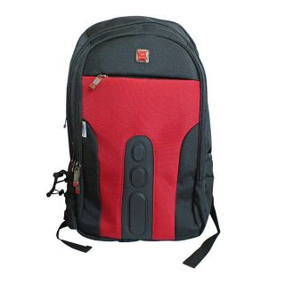 Red Notebook Laptop Backpack Travel Bag Lenovo, HP, DELL, IBM, Acer