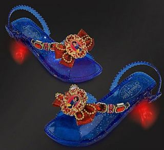 Disney princess Snow white Light Up Shoes costume girl dress up store