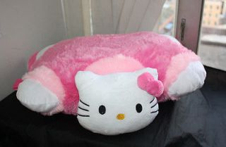 New Anime Hello kitty Transforming Pet Pillow Car Sleep Cushion Plush