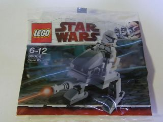 Lego Star Wars Minifig Set Clone Walker 30006 Worldwide Free Airmail