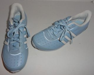 adidas womens 606001 blue running sneakers size 7 5 m