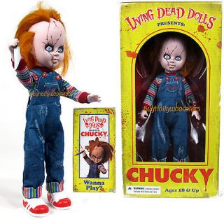 Bride of Chucky Mezco Living Dead Dolls Childs Play 10 Figure in