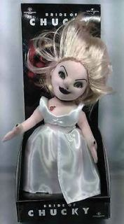 Childs Play   12 Plush Tffany Doll in Display box NEW * Bride Of