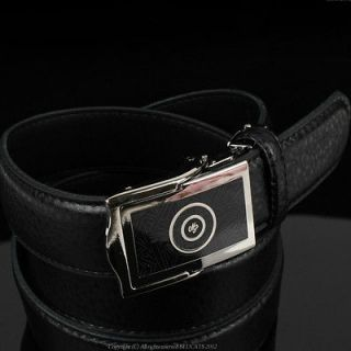 ★NEW MENS LEATHER BELT WITH BUCKLE Casual/formal FOR MENS SO COOL