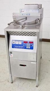 broaster model 1800gh natural gas pressure fryer cooker sold $