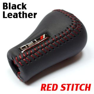 /Red Stitch 5SP Manual Shifter Shift Knob Toyota/Lexus/Sc​ion New