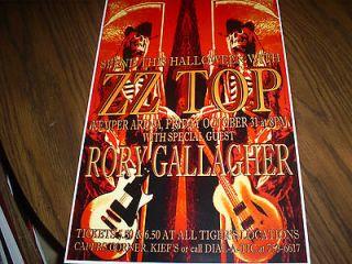 Music Memorabilia  Rock & Pop  Artists X Z  ZZ Top