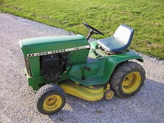 112 riding lawn tractor mower variable speed electric lift runs good