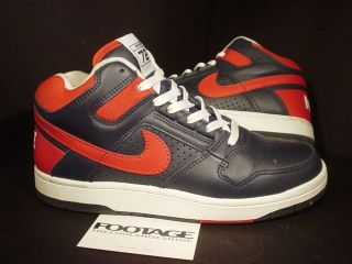 2003 Nike Air Delta Force 1 3/4 INDIANA REWIND 72 COLLEGE NAVY BLUE
