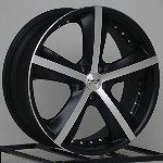 18 inch Wheels Rims Black Toyota Camry Honda Ford Fusion Flex 500 Edge