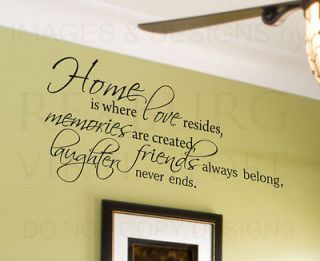 family wall quotes in Decals, Stickers & Vinyl Art