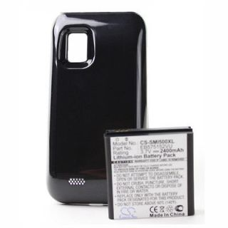 Fosmon 2400mAh Extended Li ion Battery w/ Cover for Samsung Fascinate