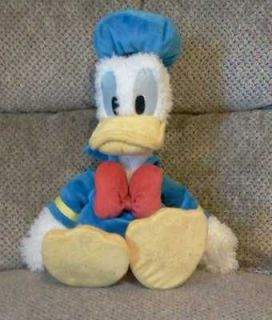 donald duck disney 17 plush in very nice condition time