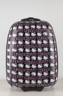 hello kitty black signature abs luggage 2437 time left $