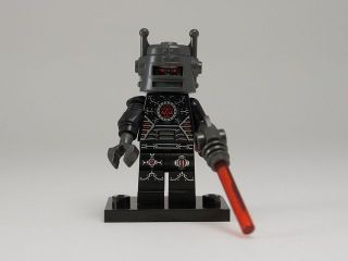 new lego minifigures series 8 8833 evil robot time left