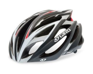 Giro Ionos Road Bike Cycling Helmet   Matt Black / Red   Medium