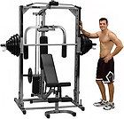 Nautilus NT CC1 Smith Machine Cable Crossover Multi Gym