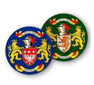coat of arms name coasters h m more options name