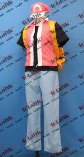 pokemon trainer cosplay costume custom made lotahk from hong kong