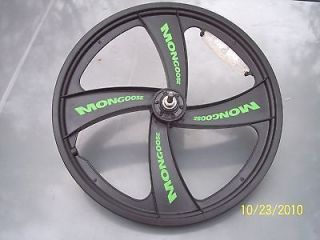 mongoose bmx mag wheels new front rims 20 inch time