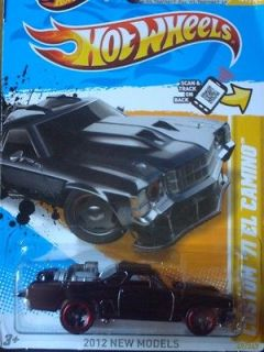 2012 New Models Black Custom 71 El Camino NEW Mad Max Style #049
