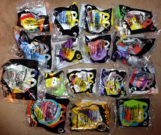 Sponge Bob Squarepants Nickelodeon McDonalds Happy Meal Set (16) 2012