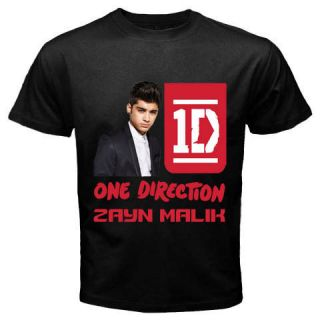 New Black T Shirt Zayn Malik One Direction Boy Band S,M,L,XL,2XL,3XL