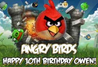 angry birds cake in Holidays, Cards & Party Supply