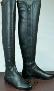 MODERN VINTAGE Bernadette Black Tall Boots Shoes SIZE 5 M VMS1 T441