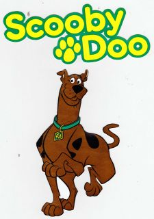 SCOOBY DOO MYSTERY MACHINE WALL SAFE STICKER CHARACTER BORDER