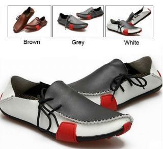 HOT 2012 Mens Casual Shoes Genuine Leather Driving Moccasins Slip On