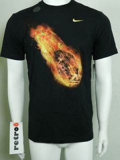NIKE METEOR MANNY PACQUIAO PAC MAN MP NEW Mens Black Dri Fit T Shirt