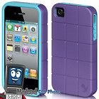 BLACK Luxmo Maxboost Series Battery Hard Case Cover Apple iPhone 4 4s