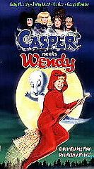 casper meets wendy vhs 1998 in a clamshell case time