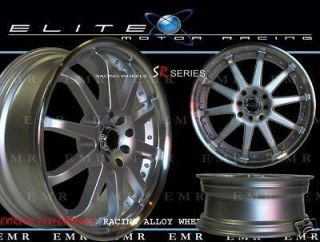 Newly listed 17x7 EVOKE XT WHEELS/RIMS 4 LUG SILVER 4x100 114.3