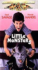 Little Monsters VHS, 1998, Clam Shell Case