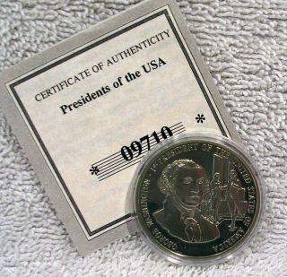 george washington medallion in Coins & Paper Money