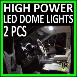 WHITE HIGH POWER 12 LED MAP DOME LIGHTS #A1 (Fits Lincoln Mark VII