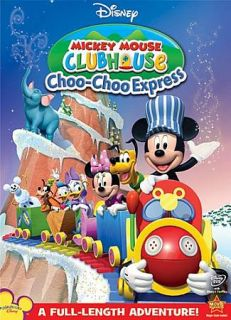 Mickey Mouse Clubhouse Choo Choo Express DVD, 2009