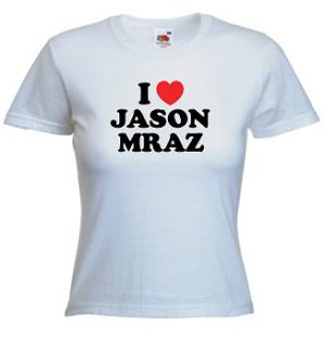 Love Jason Mraz T Shirt   You Can Choose Any Name