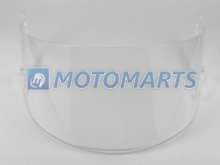 Clear Helmet Visor for SHARK RS2 RSR RSR2 Carbon RSR 2V + RSX VZ32