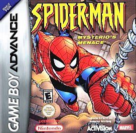 Spider Man Mysterios Menace Nintendo Game Boy Advance, 2001