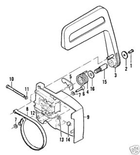 Parts Manual for Mcculloch Chainsaw on PopScreen