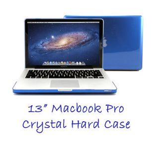 Crystal See Through Hard Case Skin Cover for Apple 13 MacBook Pro